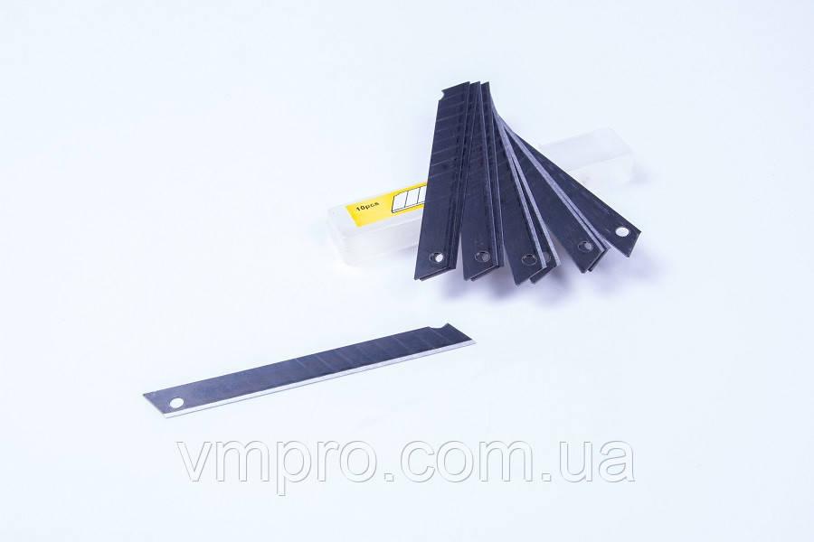 Лезвия для канцелярских ножей (9 mm) упаковка 10 шт, №LZ-19825-9, запасные лезвия