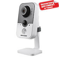 Сетевая IP видеокамера Hikvision DS-2CD2410F-I (4mm)  1MP, POE, ИК 10м