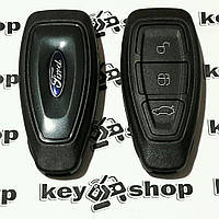 Корпус смарт ключа для FORD (Форд) Fiesta, Focus, Kuga, Mondeo, C-Max, 3 кнопки