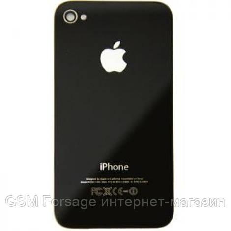 Крышка задняя Iphone 4S Black Original