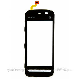 Тачскрин Nokia 5230/5228 black (с уплотнителем)