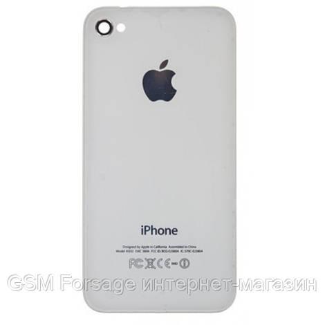 Крышка задняя Iphone 4 white