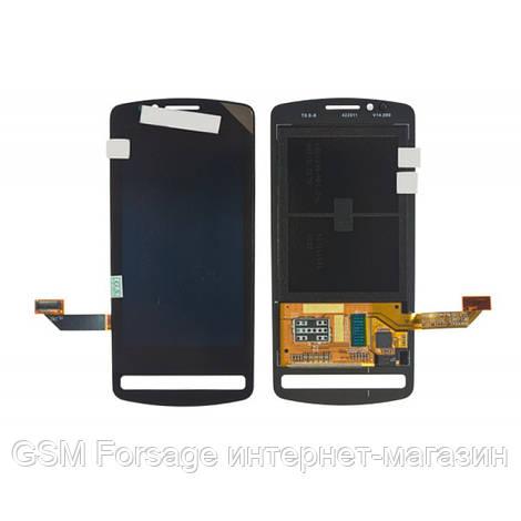 Дисплей Nokia 700 black complete