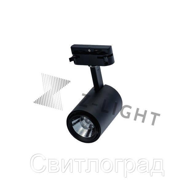 Светильник трековый светодиодный LED ZL 4007 5W LED черный