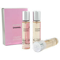 CHANEL CHANCE EAU TENDRE set (edt  3*20 ml запаски )L