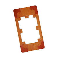 Форма на iPhone 4/4s для фиксации зазора между дисплеем и стеклом при склеивании