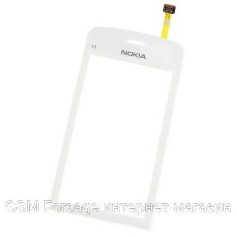 Тачскрин Nokia C5-03 White taiwan