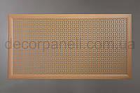 "Решетка (экран) для батарей ""Эфес"", цвет бук, из ХДФ и МДФ 68 см х 128 см х 1,8 см"