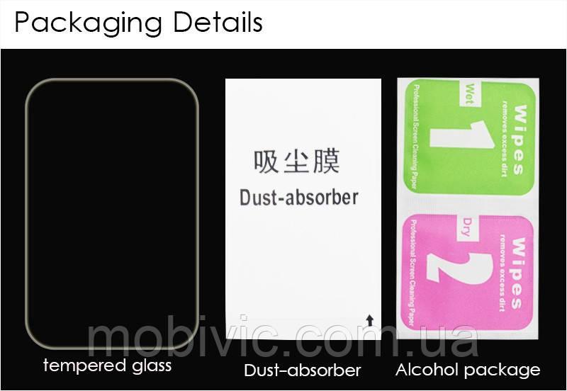 Защитное стекло XIAOMI Redmi Note 4 FULL black (полное покрытие)