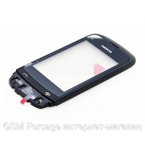 Тачскрин Nokia C2-03/C2-02/C2-06 black с рамкой