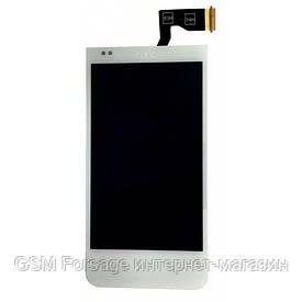 Дисплей HTC Desire 300 complete White