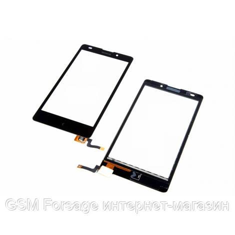 Тачскрин Nokia XL  Black Taiwan