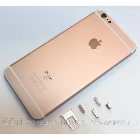 Крышка задняя iPhone 6S Plus  (5,5'') Rose Gold