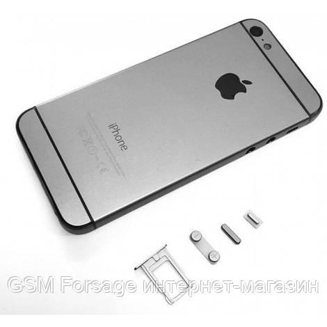Крышка задняя iPhone 5 подобно 6 Black