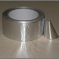 30мкм(Т) х 72мм(Ш) х 50м         Алюминиевая фольгированная самоклеющаяся лента