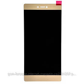 Дисплей Huawei Ascend P8 Lite complete with touch Gold
