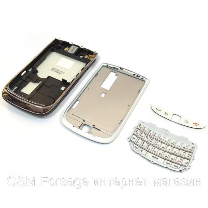 Задняя часть корпуса BlackBerry Torch 9800 White Complete orig