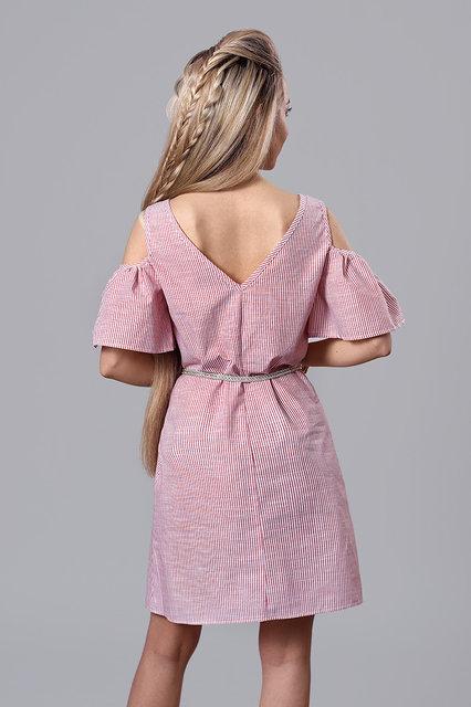 Платье мод. 237-12,размер 40,44,46,48 темно-синее, фото 3