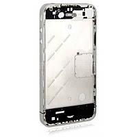 Средняя часть iPhone 4 Silver