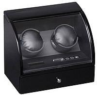 Шкатулка для подзавода часов, тайммувер для 2-х часов Rothenschild RS-322-2-BB
