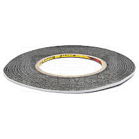 Скотч двухсторонний 3М (ширина 0,3 см)  толщина 0,07мм  (50 м)