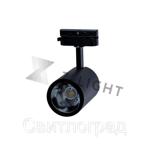 Светильник трековый светодиодный LED ZL 4007 10W LED черный