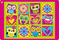 """491138 Подложка для стола детская """"Owl"""""""