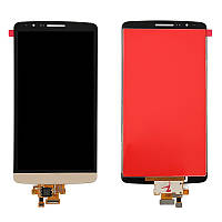 Дисплей LG Optimus G3 D855 \ D858 \ D859  complete Gold