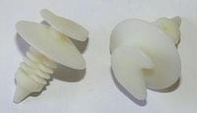 Автокрепеж, Дві капелюшки з кутовим вирізом 90508N (T=19; D=15; H=22; F=9)