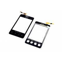 Тачскрин LG E405 Optimus L3 Dual Black