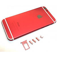 Крышка задняя iPhone 6  (4,7'') Red