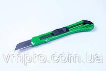Нож канцелярский (большой-18 mm) упаковка микс цветов/ 12 шт, №8680, ножи канцелярские