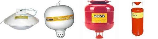 Модуль пожаротушения Буран