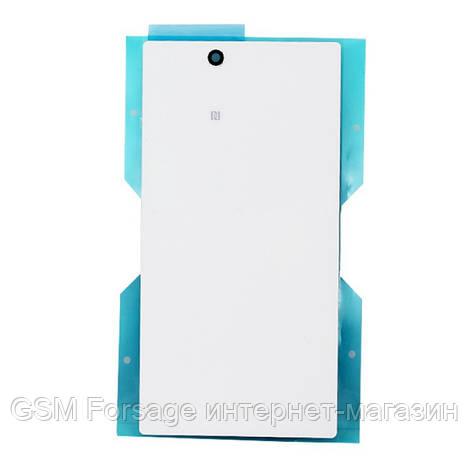 Задняя часть корпуса Sony Xperia Z Ultra C6833  White