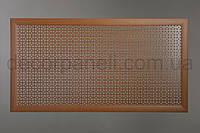 """Решетка (экран) для батарей """"Эфес"""", цвет лесной орех,  из ХДФ и МДФ 68 см х 68 см х 1,8 см"""