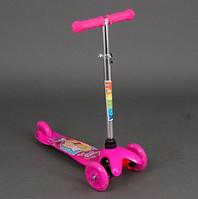 Самокат детский трехколесный Mini 779-15 Barbie (Барби) ***