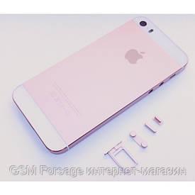 Крышка задняя iPhone 5 подобно iPhone SE Pink