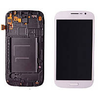 Дисплей Samsung Galaxy Grand Duos GT-I9082 White complete with frame Original 100%