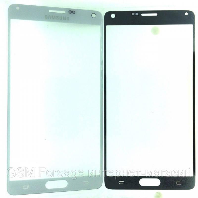 Стекло дисплея Samsung N910 Note 4 White (для переклейки)