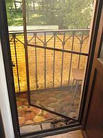 Дверная москитная сетка эконом-класс. Недорогая москитная дверь