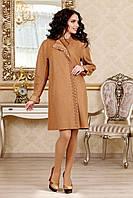 Женское демисезонное пальто В-1022 Букле, фото 1