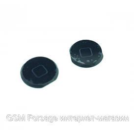 Кнопка центральная iPad Mini Black (пластиковая)