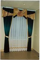 """Готовые наборы штор для окон - Комплект """"Клеопатра"""" 3 м"""