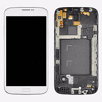 Дисплей Samsung Galaxy Mega 5.8 GT-I9150 White complete + рамка