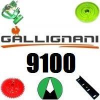 Запчастини на прес підбирач Gallignani 9100