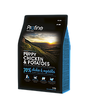 Profine Puppy Chicken & Potatoes корм для щенков, курица с картофелем, 3 кг