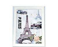 """Ключница - картина настенная """"Paris"""" деревянная недорого 12 крючков"""