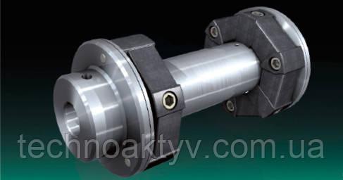 CENTAFLEX типоразмер A – тип G или GZ или GS Крутильно-упругие, экономичные промежуточные валы, на основе надежно зарекомендовавшего себя элемента CENTAFLEX-A, компен- сирует значительные усилия любого рода и перемыкает расстояния до нескольких метров. Промежуточная труба из стали или компози- ционного материала, армированного углеродным волокном. Идеальна для использования в промышленности и судостроении, особенно для дизельных двигателей. Вращающие моменты до 14 кНм.