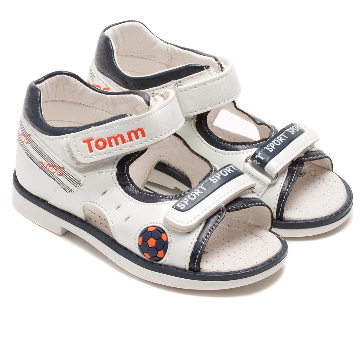 Белые босоножки Тоm.m для мальчика, размер 20-25
