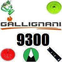 Запчасти на пресс подборщик Gallignani 9300